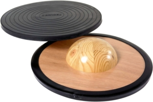 Balance-Board Test-Gonge- Holzbalancierbrett