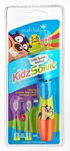 elektrische Kinderzahnbürste Test- Brush Baby Kidz Sonic