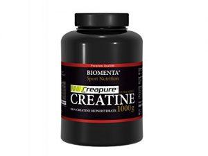 Biomenta® Creatin - Original Creapure® Creatine im Vergleich