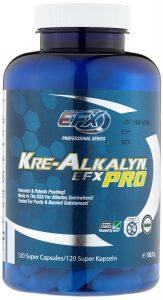 EFX Kre-Alkalyn Pro im Creatin Test Vergleich