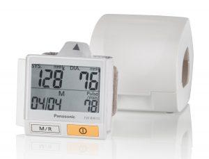 Handgelenk Blutdruckmessgerät Test Panasonic EW-BW10