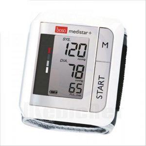 Handgelenk Blutdruckmessgerät Test boso Medistar+