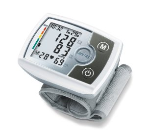 Handgelenk Blutdruckmessgeraet test Sanitas SBM 03