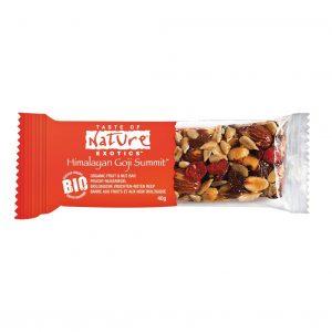 Müsliriegel Test Taste of Nature Organic Himalayan