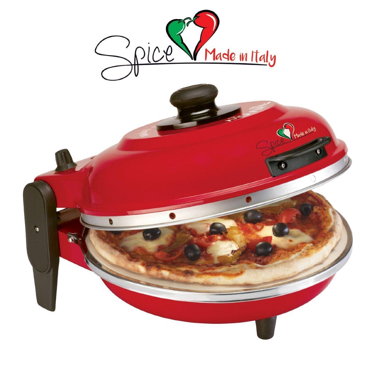 Pizzaofen Test SPICE- Pizza italia DIAVOLA
