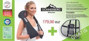 Donnerberg ORIGINAL im Nackenmassagegerät Test